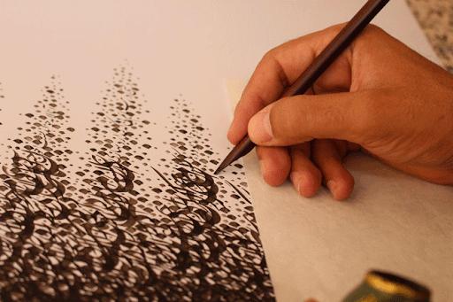 بیان اصول مقدماتی کاردانی هنرهای تجسمی از مهندس امیر مسعودی